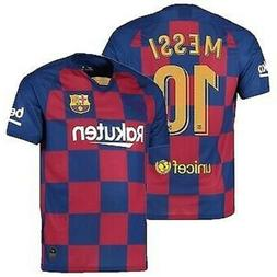 Barcelona Messi #10 Home New Season 2019-2020 Soccer Jersey