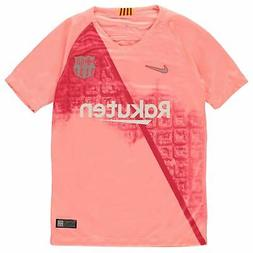 Nike Barcelona Third Jersey 2018 2019 Juniors Pink/Silver Fo