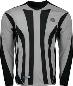 Admiral Bayern ADULT Padded Elbow Soccer Goalie Jersey, Silv