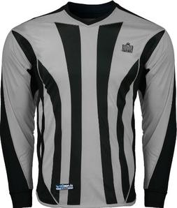 Admiral Bayern Goalkeeper Jersey, Silver/Black, Youth Large
