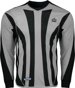 Admiral Bayern YOUTH Padded Elbow Soccer Goalie Jersey, Silv