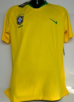 BLOWOUT! - 2018 Brazil Brasil Home Soccer Jersey Yellow, L,