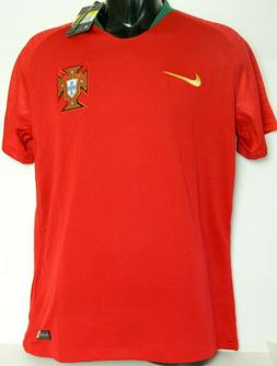 BLOWOUT! - 2018 Portugal Home Soccer Jersey Dark Red  - FREE