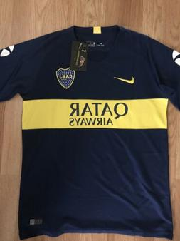 6cd7e963bc5 BOCA JUNIORS HOME SOCCER JERSEY 2017-201... By Nike