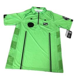 OFFICIAL SPORTS Brand USSF GREEN Soccer Referee Jerseys New