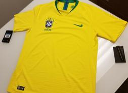brasil brazil authentic home soccer jersey vaporknit