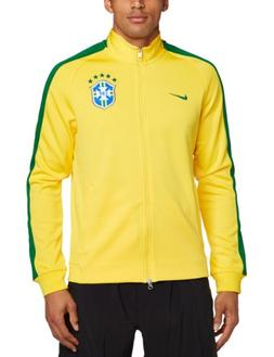Nike Brasil CBF N98 Authentic Men's Track Jacket Varsity Mai