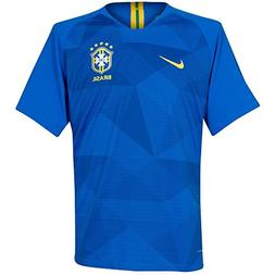 NIKE 2018-2019 Brazil Away Football Shirt