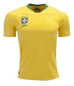 Brazil National Soccer Team 2018 Home Soccer Jersey Size S