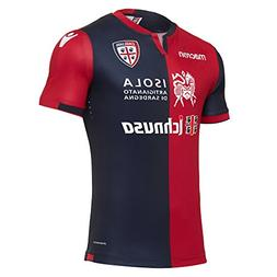 Cagliari Authentic Home Jersey 2017/18 Macron Soccer Shirt