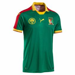 Puma Cameroon FECA FOOT Africa Home Away Green  Red Gold Soc