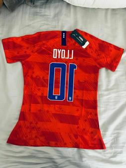 Carli Lloyd #10 2019 World Cup USA Women's Away Soccer Jerse