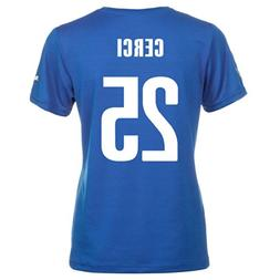 Puma CERCI #25 Italy Home Jersey World Cup 2014