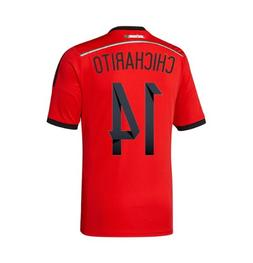 Adidas CHICHARITO #14 Mexico Away Jersey World Cup 2014 YOUT