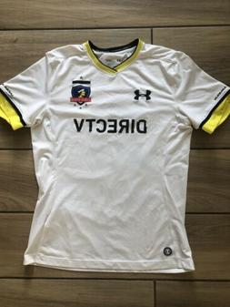 Under Armour Chile Colo Colo Home Football Shirt soccer jers