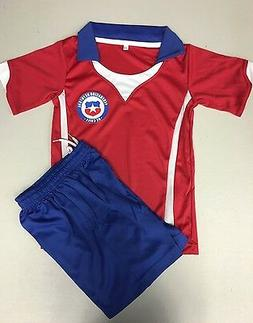 CHILE National Soccer Training Jersey Youth kids boys