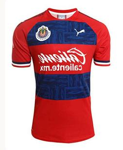 Chivas Away Soccer Jersey 2019-2020 Men Size Futbol Football