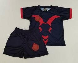 Chivas De Guadalajara kid's Third away Soccer jersey and Sho