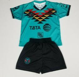 Club America Kid's Third Away Soccer Jersey Futbol Liga Mx J