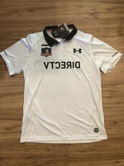 Colo-Colo Authentic Under Armour Soccer Football Jersey Whit