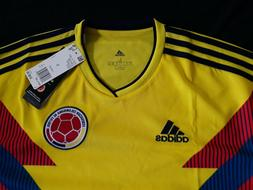 Colombia Men's Adidas Soccer Home Jersey Model Cw1526 Retail