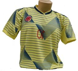 Colombia Soccer Jersey Style Copa America 2019.  Receive 1-5