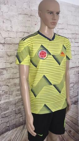 Colombian National Soccer Team Jersey- Short sleeved- New sh