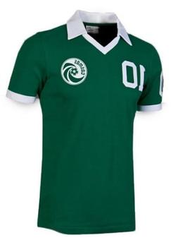 Umbro Cosmos New York Retro Pelé Shirt Green