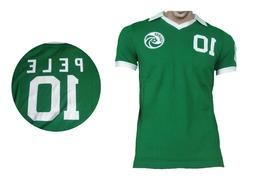 Cosmos New York Retro Pelé Shirt Umbro Green Jersey Soccer