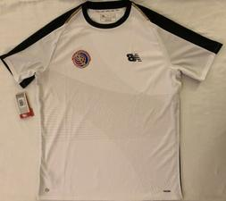Costa Rica National Team Home Soccer Jersey. Adult Size: Med