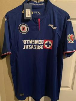 Cruz Azul Home Casa Jersey 2019 Medium