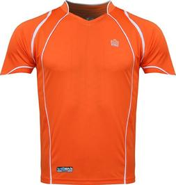 Admiral Cruz Ready-to-Play Premium Soccer Jersey, Orange/Whi