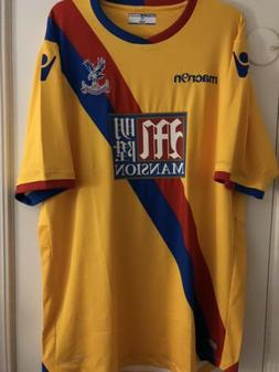 Macron Crystal Palace Away Jersey - Player Issue Brand New W