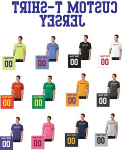 Custom T-Shirt Team Jersey Personalized - ANY COLOR/NUMBER F