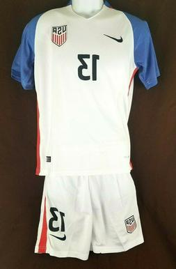 Nike Dri-Fit 2016 Alex Morgan #13 USA Soccer Jersey and Shor
