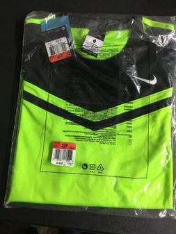 Nike Dri-Fit Soccer Jersey Neon Green / Black   Youth Boys L