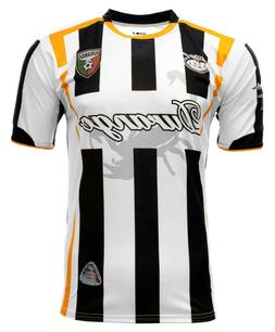 Durango Mexico Soccer Jersey Color White and Black Arza Desi