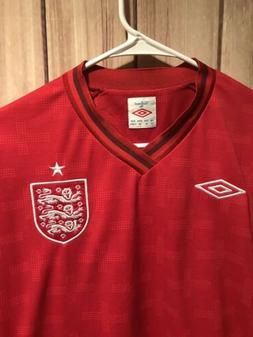 England NATIONAL TEAM Football Soccer JERSEY Umbro Size 50 X