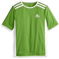 adidas Entrada 18 Jersey, Rave Green/White, X-Small