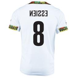 PUMA ESSIEN #8 GHANA HOME JERSEY WORLD CUP 2014