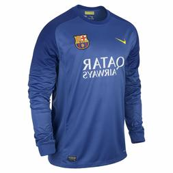 the latest a2927 94295 NIKE FC BARCELONA GOALKEEPER HOME JERSEY...