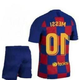 FC  Barcelona Lionel Messi #10 New Season Soccer Jersey Kids