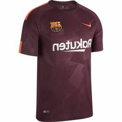 Nike FC Barcelona Official 2017 2018 Third Soccer Football J