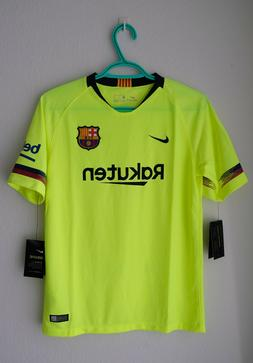 Nike FC Barcelona 'Rakuten' Away Jersey Youth XLarge Messi S