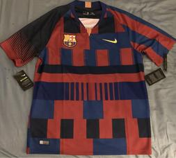 Nike FC Barcelona Soccer Jersey. Adult Size: Small, Medium