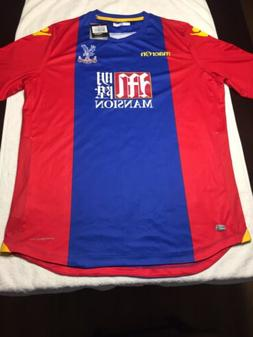 MACRON FC CRYSTAL PALACE 2016/17 SOCCER FOOTBALL JERSEY MAIL