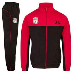 Liverpool FC Official Soccer Gift Mens Jacket & Pants Tracks