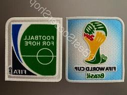FIFA World Cup Brazil 2014 - Soccer Jersey Patch Set- FREE S