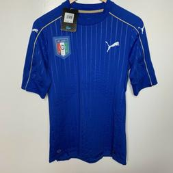 Puma FIGC Italy Italia Authentic Soccer Jersey Size Large