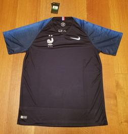 France NIKE Jersey Dri-Fit 2 Stars  Men's Size XL World Cup